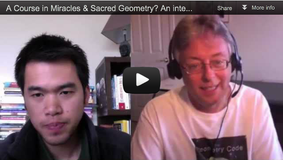 Kenneth Bok interview: A Course in Miracles & Sacred Geometry? on the ACIM Explained YouTube series