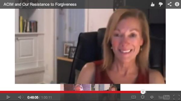 ACIM And Our Resistance To Forgiveness ScreenSnap