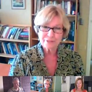 Forgiving Ourselves-Lyn Corona-Susan Dugan-Bruce Rawles-video conversation-google Hangout
