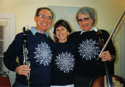 Ken Wapnick (left) and Tennanah Lake Trio