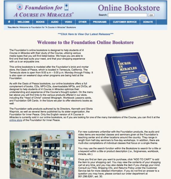 FACIM - Online Bookstore