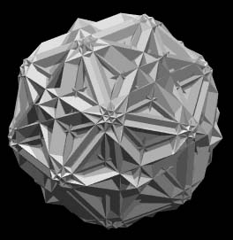 Russell Towle - 4D polytope model