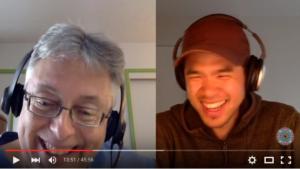 Bruce Rawles andKenneth Bok - video conversastion