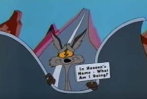 Wile E. Coyote (RoadRunner cartoon) screen snap