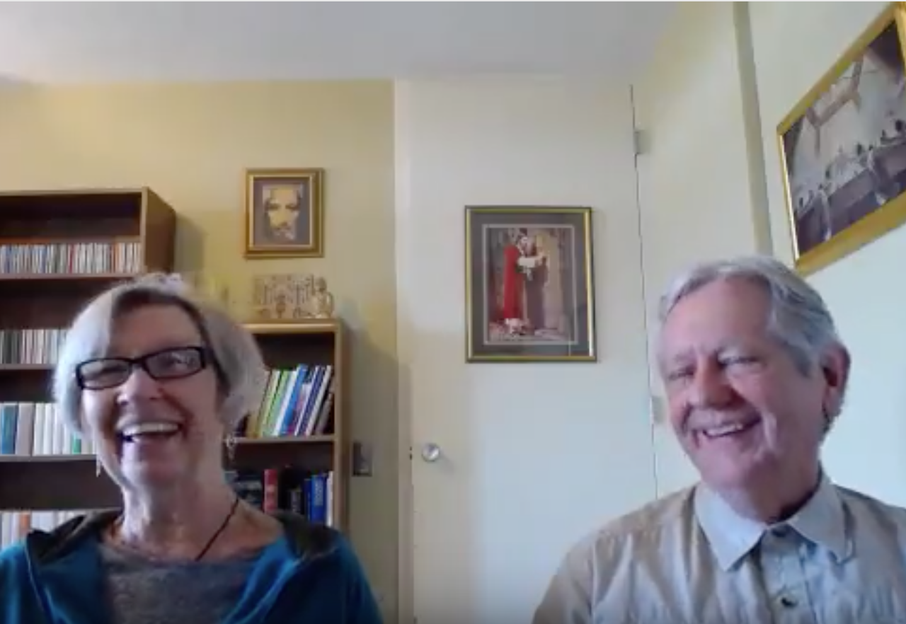 """Lyn Corona and Tim Wise - """"Course And Coffee"""" Chat - School For A Course In Miracles"""